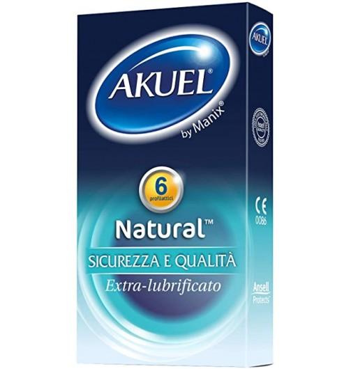 AKUEL BY MANIX NATURAL 6 PEZZI