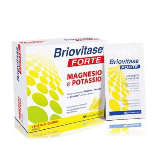 BRIOVITASE FORTE MAGNESIO E POTASSIO 20 BUSTINE