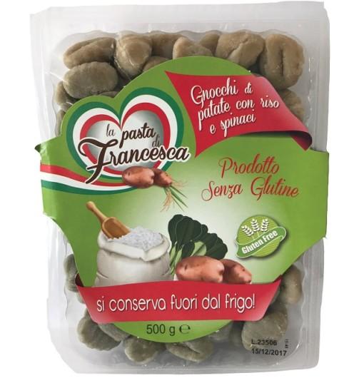 FRANCESCA Gnocchi Spinaci 500g