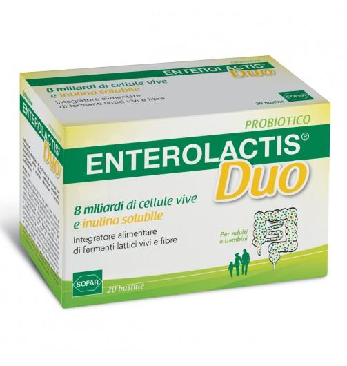 ENTEROLACTIS-DUO 20 BUSTE