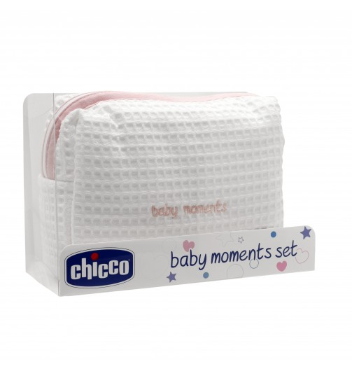 BABY MOM SET C/ZIP ROSA 32020