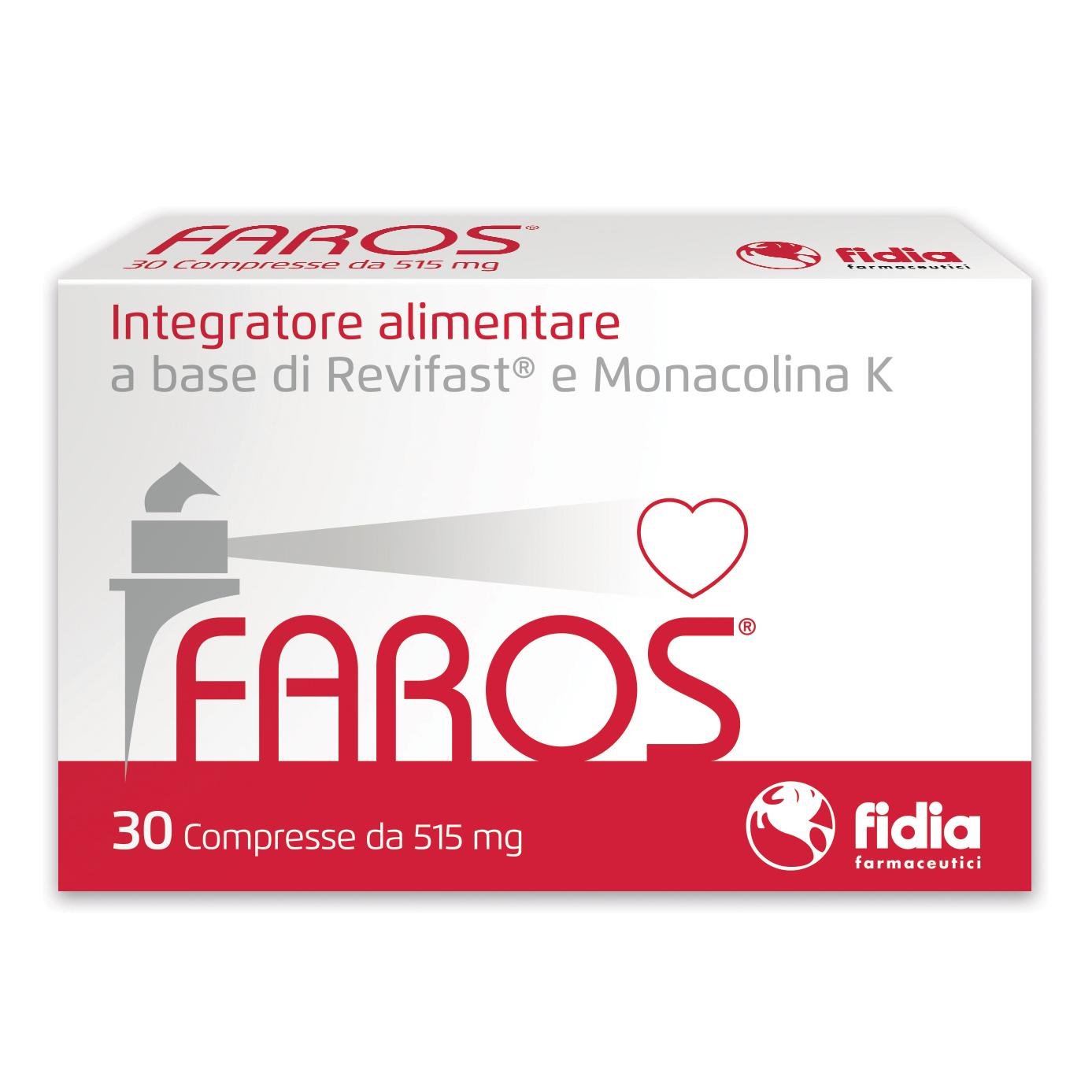 Faros integratore alimentare 30 compresse